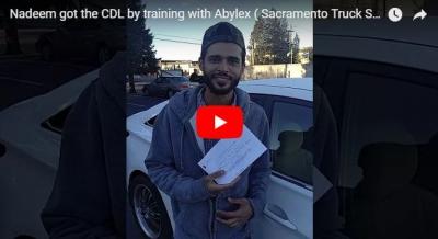 Naeem passed driving test