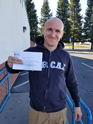 Student passed CDL test